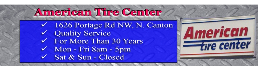 American Tire Center in North Canton OH